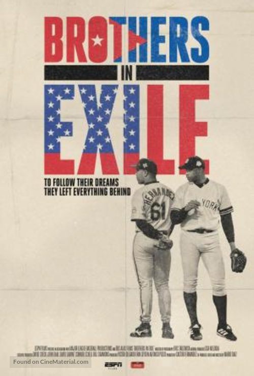 """""""30 for 30"""" Brothers in Exile - Movie Poster"""