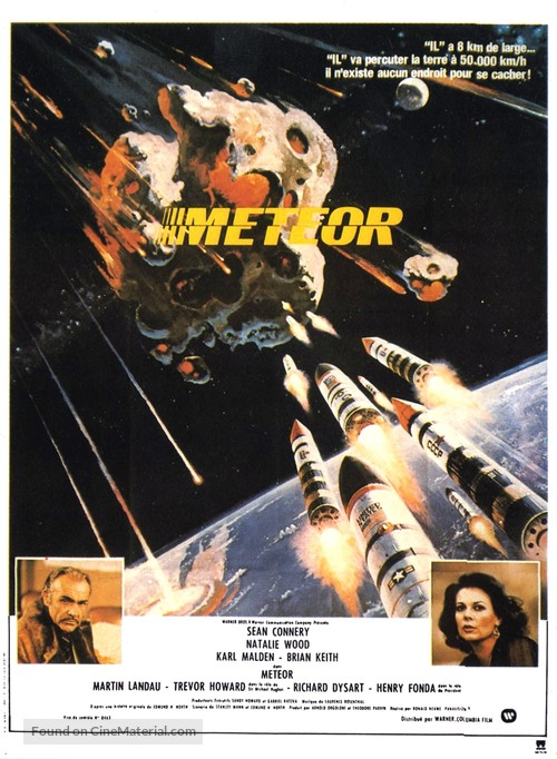Meteor - French Movie Poster