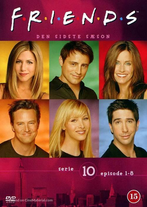 """Friends"" - Danish DVD movie cover"