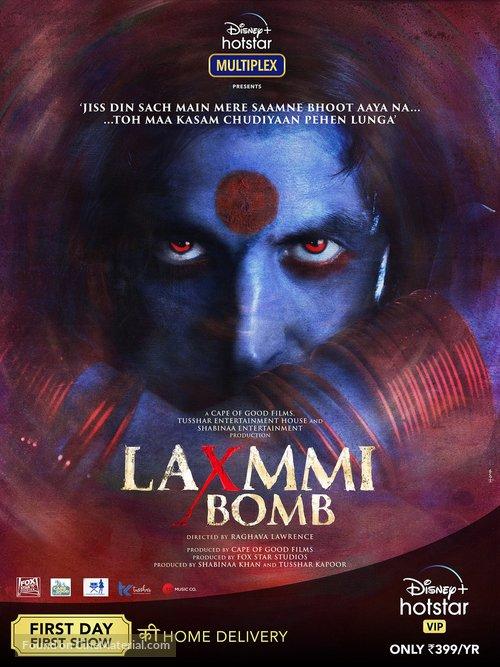 Laxmmi Bomb - Indian Movie Poster