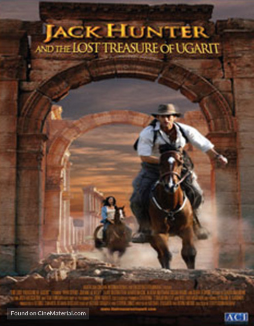 """""""Jack Hunter and the Lost Treasure of Ugarit"""" - Movie Poster"""