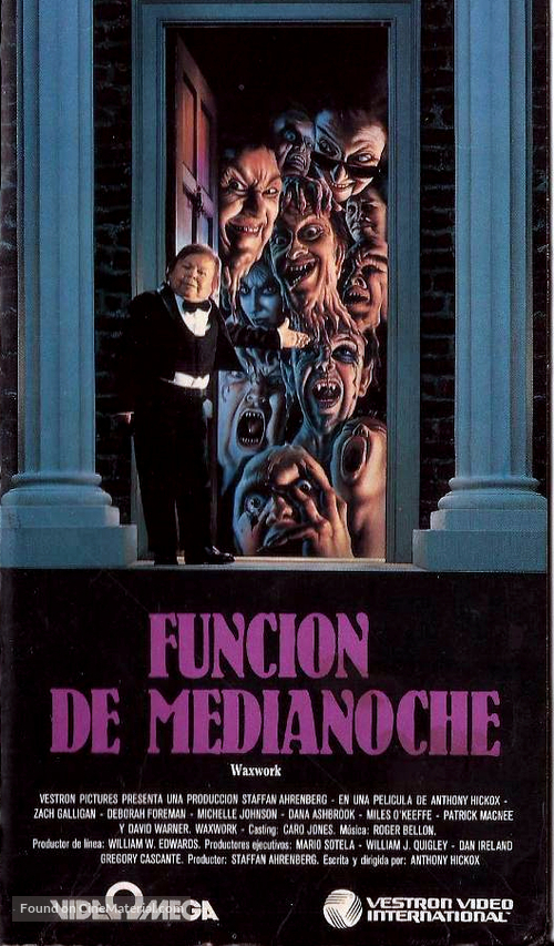Waxwork - Argentinian Movie Cover