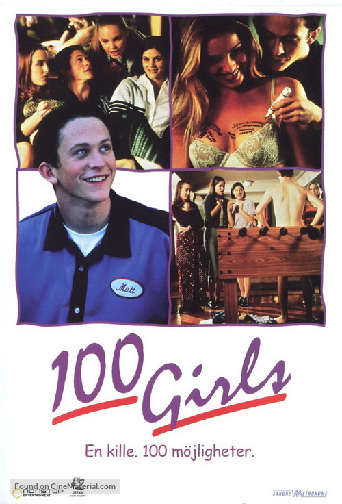 100 Girls - Swedish Movie Cover