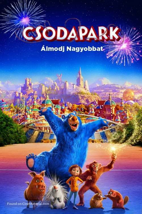 Wonder Park - Hungarian Movie Cover