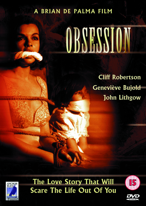 Obsession - British DVD movie cover
