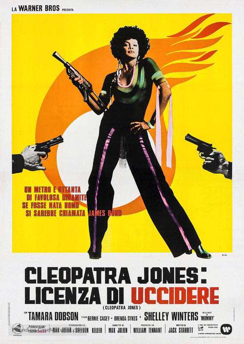 Cleopatra Jones 1973 Italian Movie Poster