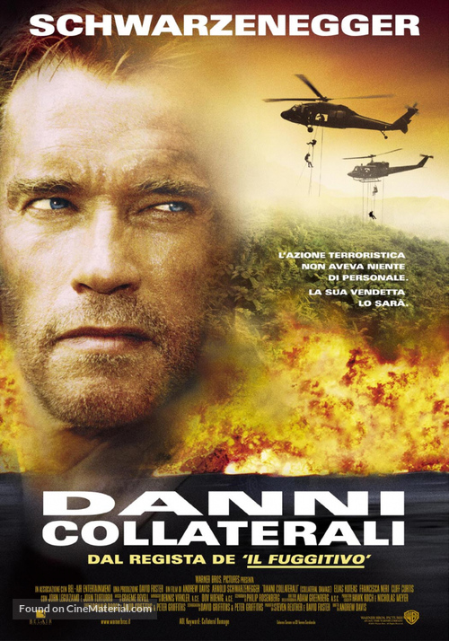 Collateral Damage - Italian Movie Poster