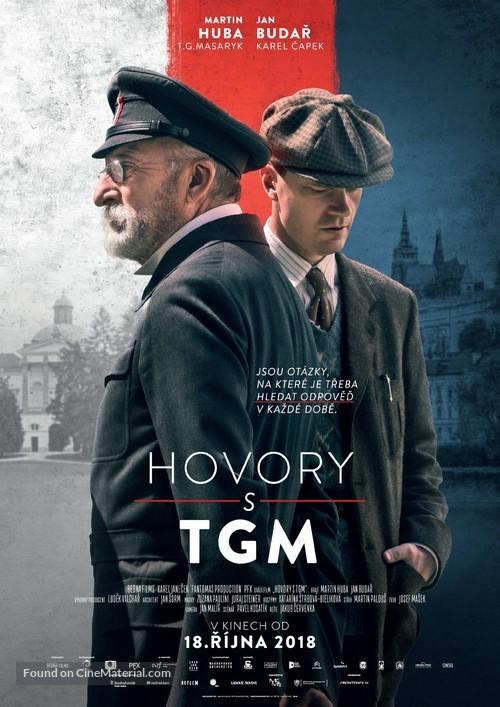 Hovory s TGM - Czech Movie Poster