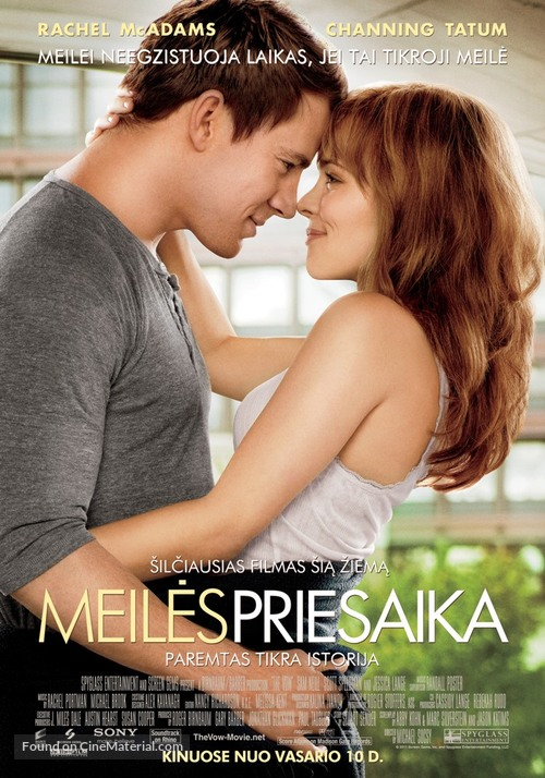 The Vow - Lithuanian Movie Poster