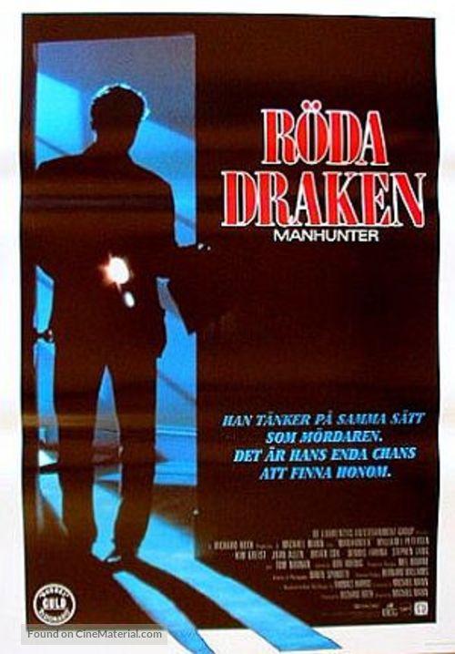 Manhunter - Swedish Movie Poster