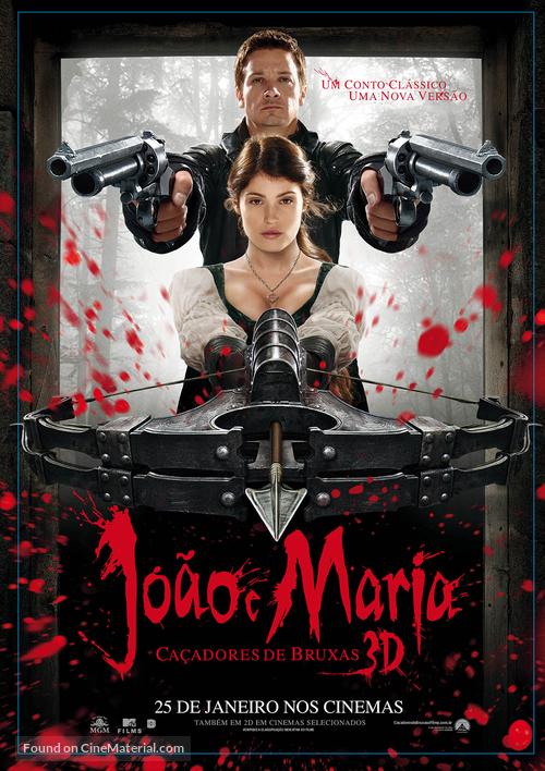 Hansel & Gretel: Witch Hunters - Brazilian Movie Poster