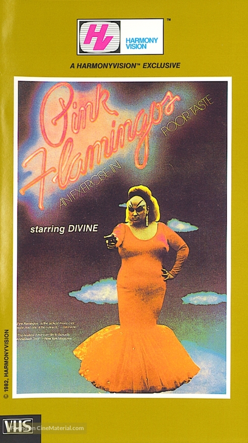 Pink Flamingos - VHS movie cover