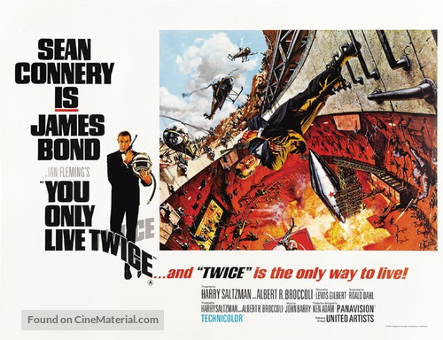 You Only Live Twice - British Movie Poster