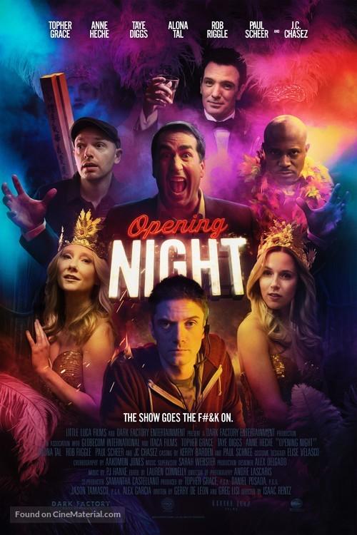 Opening Night - Movie Poster
