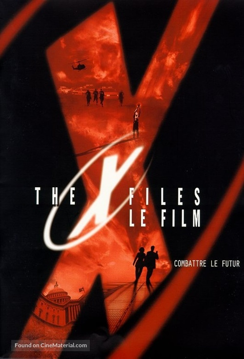 The X Files - French Movie Poster