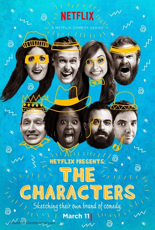 """""""The Characters"""" - Movie Poster"""