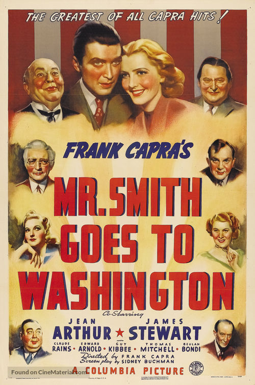 Mr. Smith Goes to Washington - Theatrical poster