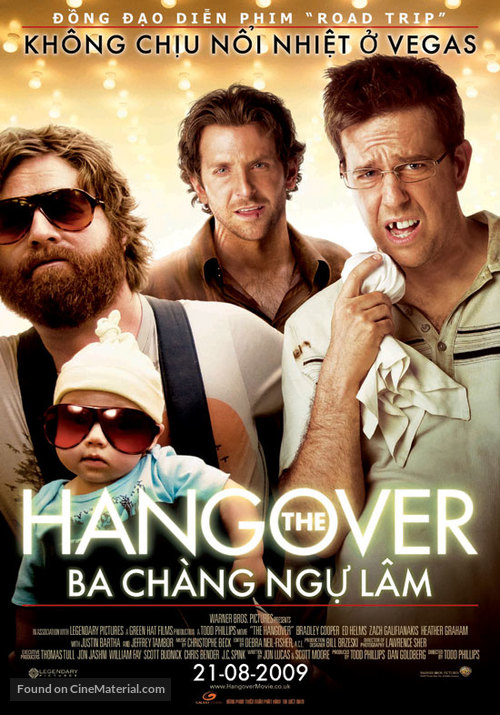 The Hangover - Vietnamese Movie Poster