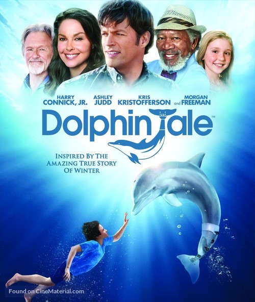 Dolphin Tale - Blu-Ray movie cover