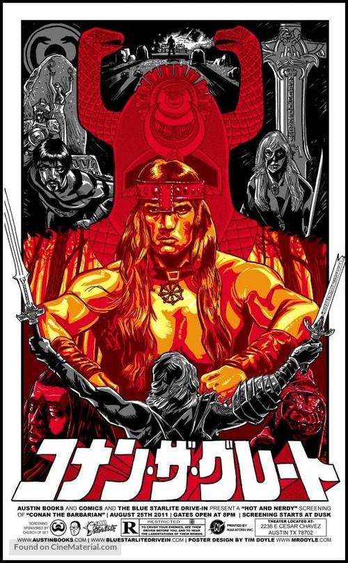 Conan The Barbarian - Homage movie poster