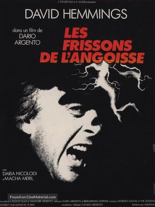 Profondo rosso - French Movie Poster