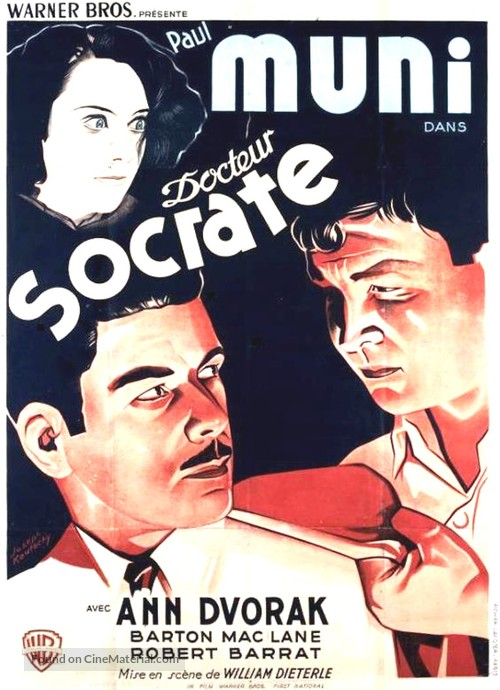 Dr. Socrates - French Movie Poster