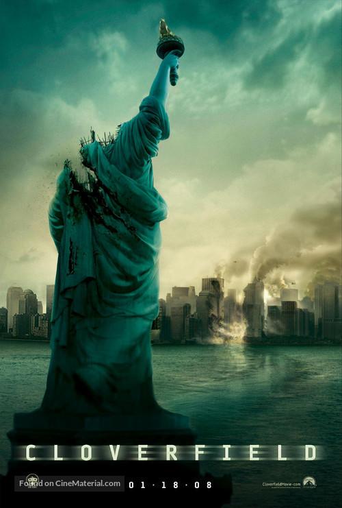Cloverfield - German Teaser movie poster
