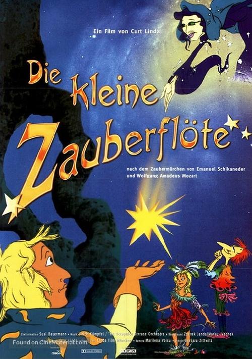 Die kleine Zauberflöte - German Movie Poster