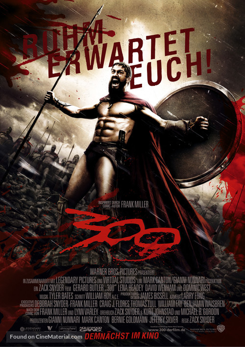300 - German Movie Poster
