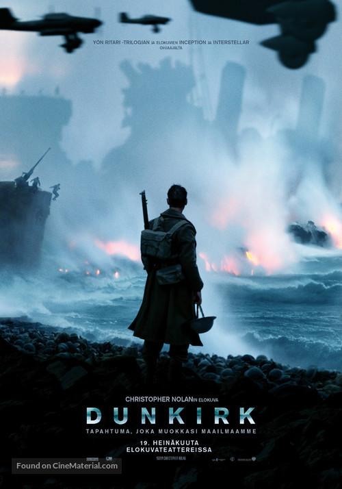 Dunkirk - Finnish Movie Poster