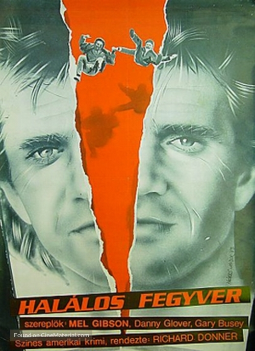 Lethal Weapon - Hungarian Movie Poster