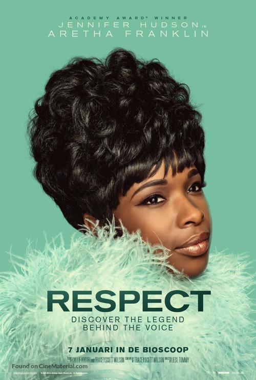 Respect - Dutch Movie Poster