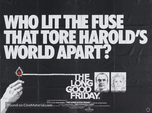 The Long Good Friday - British Movie Poster