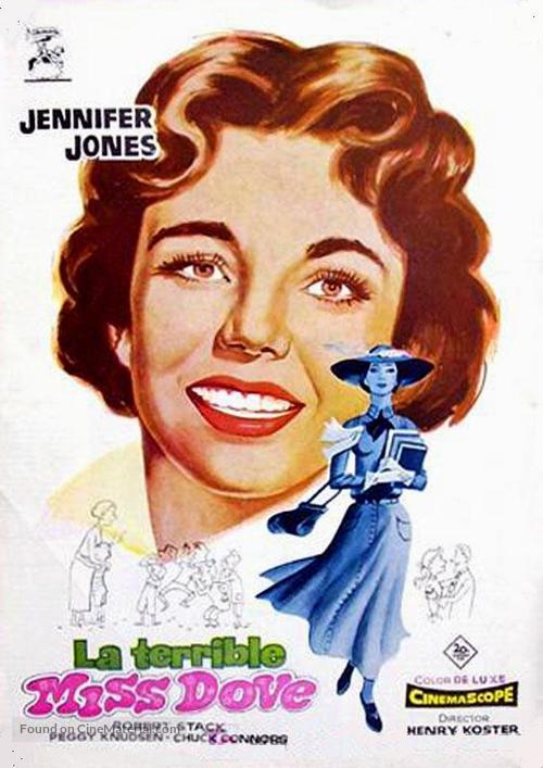 Good Morning, Miss Dove - Spanish Movie Poster