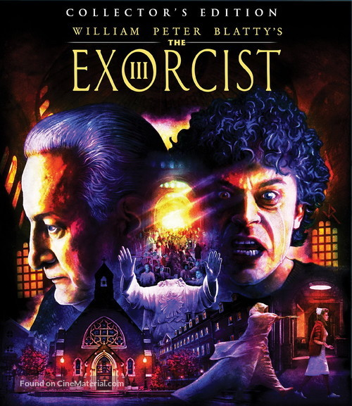The Exorcist III - Blu-Ray movie cover