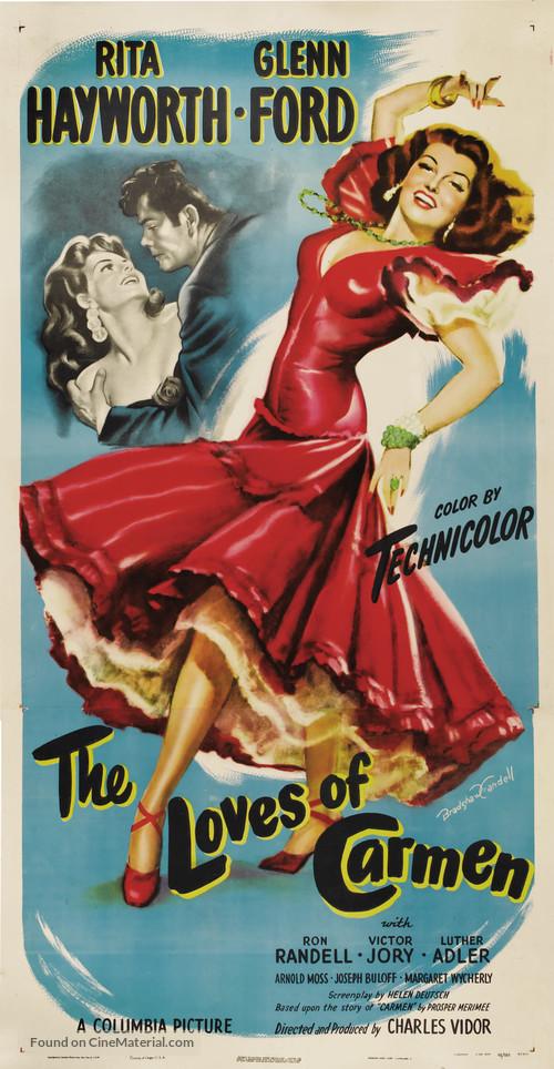 The Loves of Carmen - Movie Poster