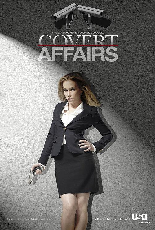 """""""Covert Affairs"""" - British Movie Poster"""