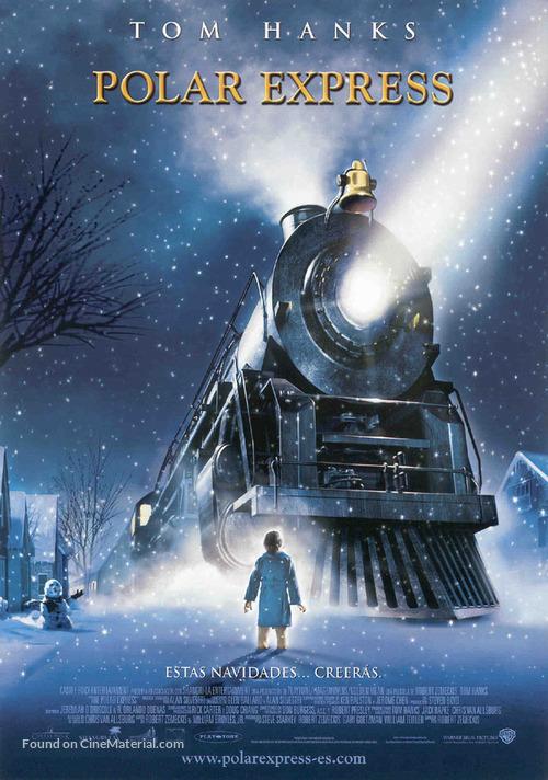 The Polar Express - Spanish Movie Poster