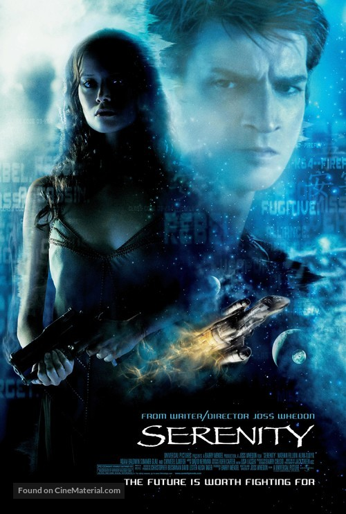 Serenity - Theatrical movie poster