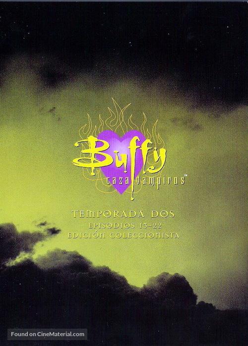"""Buffy the Vampire Slayer"" - Spanish DVD movie cover"