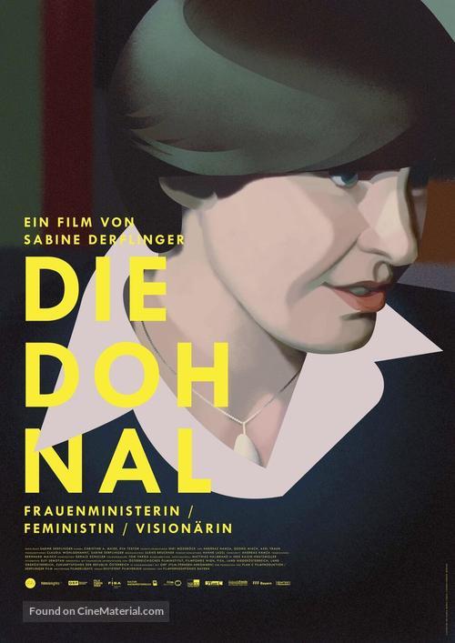 Die Dohnal - German Movie Poster