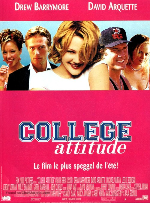 Never Been Kissed - French Movie Poster