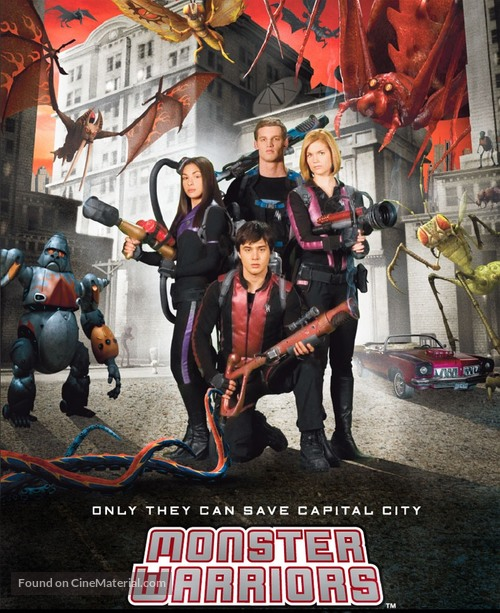 """""""Monster Warriors"""" - Canadian Movie Poster"""