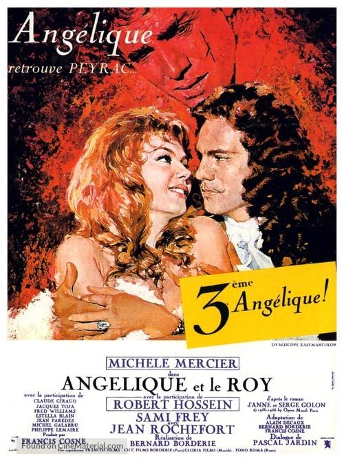 Angélique et le roy - French Movie Poster