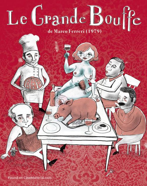 La grande bouffe - French Movie Cover