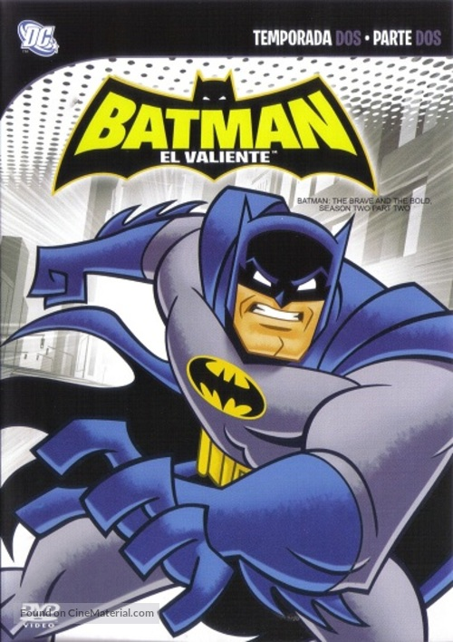 """""""Batman: The Brave and the Bold"""" - Mexican DVD movie cover"""