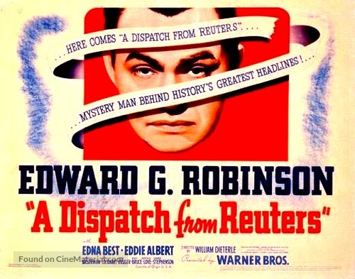 A Dispatch from Reuter's - Movie Poster