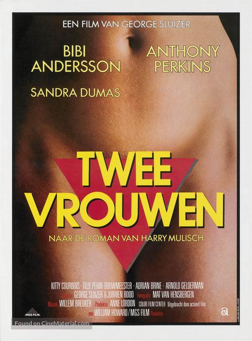 Twee vrouwen - Dutch Movie Poster