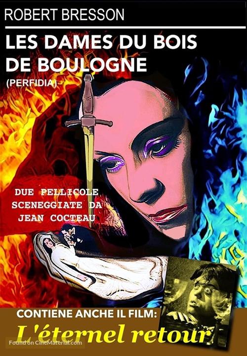 Dames du Bois de Boulogne, Les - Italian DVD movie cover