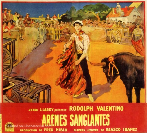 Blood and Sand - French Movie Poster